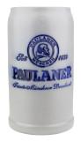 Paulaner Brewery 1 Liter Salt Glaze Stoneware Beer Mug
