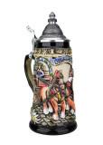 Oktoberfest Beer Wagon Stein | 0.25 Liter