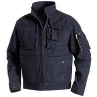 Blaklader 4062 Brawny Canvas Jacket - Steel Blue