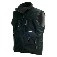 Blaklader 3845 Two Fisted Fleece Vest - Black