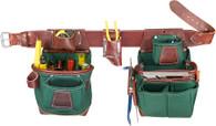 Occidental Leather 8585LH Heritage FatLip Tool Bag Set - Left Handed