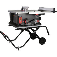 SawStop JSS-MCA 120V 1.5HP 15 Amp 10 in. Portable Jobsite Table Saw with Stand