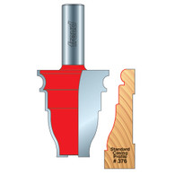 "Freud 99-467 Door/Window Casing Router Bit Casing Profile 1-5/8"" 376"
