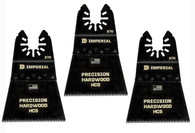 Imperial IBOA270-3 2-1/2 Inch HCS Japanese Precision Saw Blades, 3 Pack