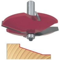 Freud 99-515 Raised Panel Router Bit Quadra-Cut 5/8 In Carbide 1/2 In Shank