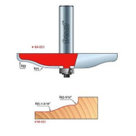 Freud 99-521 Raised Panel Router Bit Quadra-Cut 3-1/2In, 1-3/16In Lg Radius
