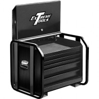 Extreme Tools TX362505RBBK 36 in. 5 Reinforced Drawer Extra Capacity Road Tool Box - Black