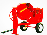 Multiquip MC94SH8 Concrete Mixer Steel-Drum 9 CF 8HP Honda GX240