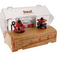 Freud 99-268 Two Pc 1 7/8 Inch Diameter Entry - Interior Door Router Bit System with 1/2 Inch Shank