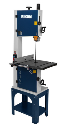 Rikon 10 324 14 Inch 1 5 Hp Bandsaw With Rip Fence