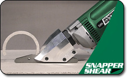 Snapper Shear SS404 Fiber Cement Siding Shear PacTool (Gekco Gauge)