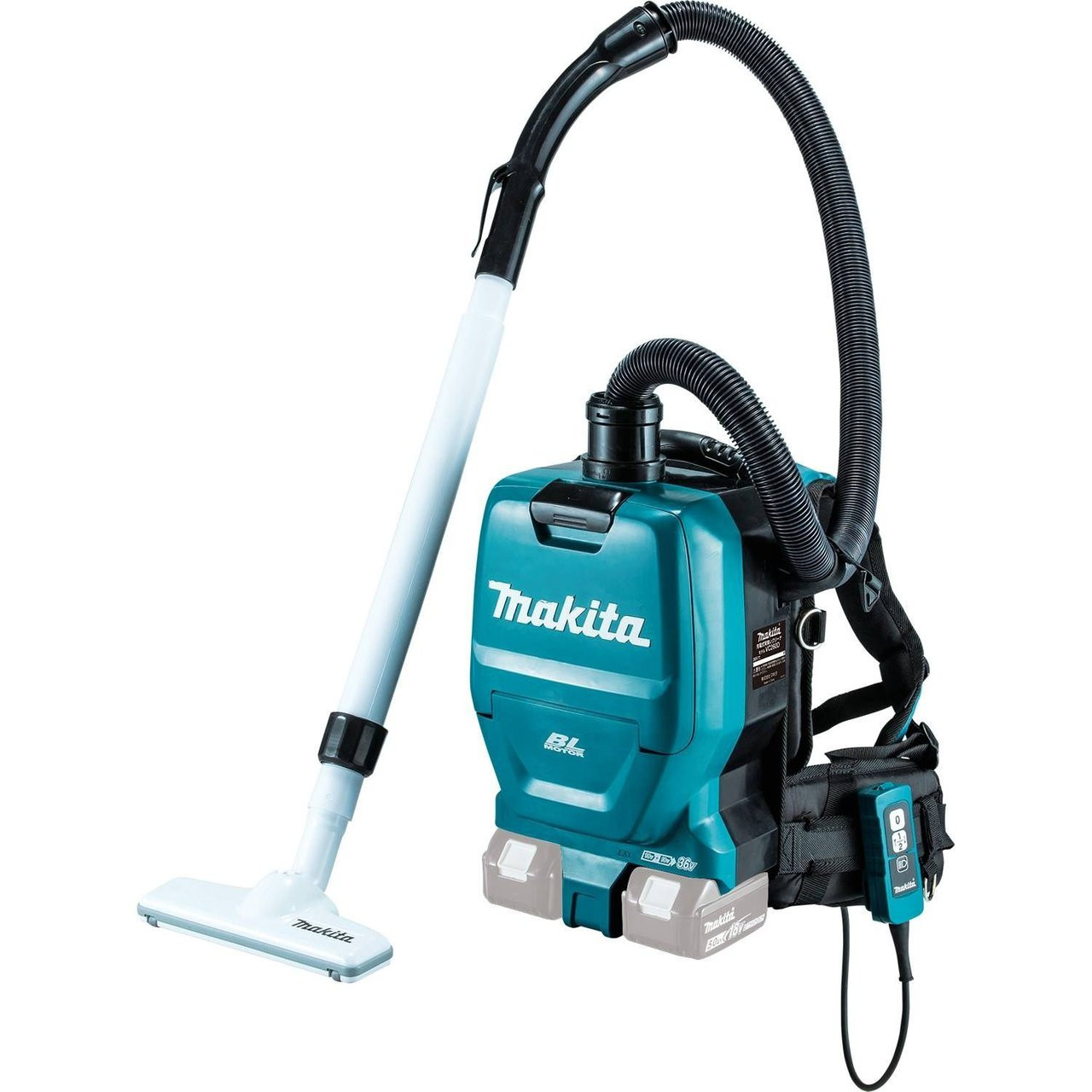 b90ea365d838 Makita XCV05Z 18V X2 LXT Lithium-Ion Brushless Cordless HEPA Filter  Backpack Vacuum Tool Only