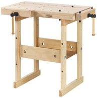 Sjobergs 33283 Hobby Plus 850 Birch Workbench is a compact bench which is easy to place when space is limited.