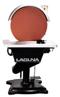 "Laguna MSAN20DISC1PH2HP-0200 20"" Disc Sander 2HP 1PH 220V features an electronic dynamically balanced steel disc surrounded by a flip-away aluminum guard to allow easy access when changing paper."