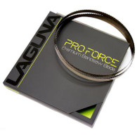 "Laguna BBPF-14-4-145 Pro Force 1/4"" x 4TPI x 145"" Bandsaw Blade is an affordable blade without compromising the cut."