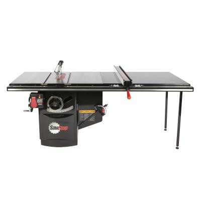 """SawStop ICS53480-52 5 HP, 480V, 3PH Industrial Cabinet Saw with 52"""" Industrial T-Glide Fence System offers the durability, versatility, and the peace of mind only SawStop's patented safety system can provide."""