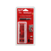 "Milwaukee 48-25-5220 1-3/8"" Switchblade™ 3 Blade Replacement Kit blades are made of hardened steel for long life."