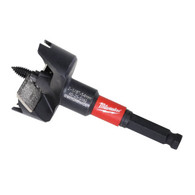 "Milwaukee 48-25-5140 2-1/8"" SwitchBlade™ Selfeed Bits allow you to remove and replace blades rather than resharpen."