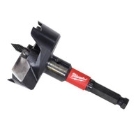 "Milwaukee 48-25-5150 2-9/16"" SwitchBlade™ Selfeed Bits allow you to remove and replace blades rather than resharpen."