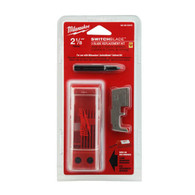 "Milwaukee 48-25-5240 2-1/8"" Switchblade™ 3 Blade Replacement Kits are made of hardened steel for long life."