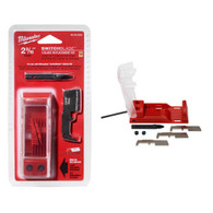 "Milwaukee 48-25-5250 2-9/16"" Switchblade™ 3 Blade Replacement Kits are made of hardened steel for long life."