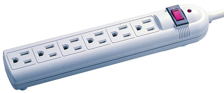 Voltec 11-00225  6-Outlet Surge Strip provides premium power protection for small home appliances, and other connected devices.