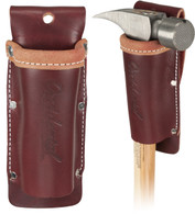 "Occidental Leather 5518 No Slap Hammer Holder is design to prevent tools and handles from swinging and ""knee-capping""."