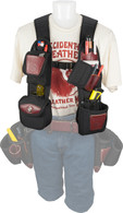 Occidental Leather 1550 Stronghold® Insta-Vest™ Kit Plus Suspender Package allows you to carry all essentials and reach less.