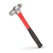 TEKTON 30402 12 oz. Ball Pein Hammer delivers a sure strike in comfort and feel the difference of the vibration-absorbing fiberglass handle and soft, non-slip rubber grip