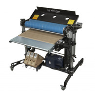 SuperMax Tools SUPMX-937003 37×2 Double Drum Sander 220V, 5HP,1PH is able to sand two grits in a single pass