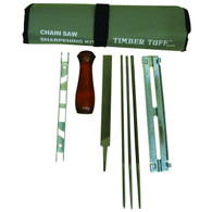 Timber Tuff CS-08PFK 8Piece Chainsaw Sharpening Kit includes everything you need to keep your chain saw chain sharp.