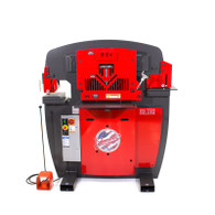 Edwards 100 Ton Deluxe Ironworker features super-duty construction and a powerful 10hp motor.