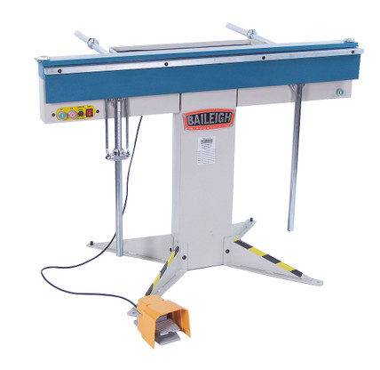 Baileigh BB-4816M Magnetic Sheet Metal Brake this sheet metal brake can bend boxes or pans to almost any depth since it doesn't rely on conventional finger depths.