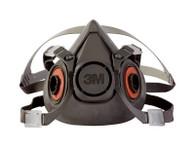 3M 6300/07026 (AAD) Half Facepiece Reusable Respirator Large