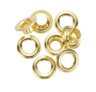 General Tools 1261-2 24 Piece 3/8-Inch Grommets Solid Brass