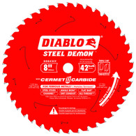 Diablo D0842CF 8 In X  42T Steel Demon Metal Cutting Circular Blade