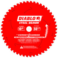 Diablo D1050CF 10 In X 50 Tooth Steel Demon Metal Cutting Saw Blade