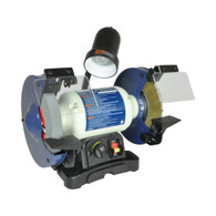 Rikon 80-800VS  8IN VS Bench Grinder is made for the metalworking trades, but is extremely useful in workshops for handling general metal cleaning, shaping, grinding and sharpening jobs.