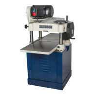 Rikon 23-150H 15IN Planer 3.0HP Cast Iron Ext Tables Spiral Cutter head Closed Stand