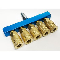 Rolair M-BAR5CP-14-1C 5-Way Manifold