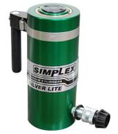 Simplex RAS506B Hydraulic Aluminum Cylinder 50 Ton 6 In Single Acting Spring Return