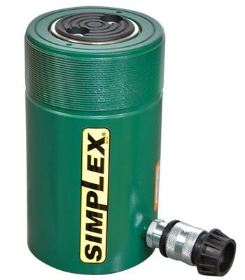 Simplex R556 Hydraulic Steel Cylinder 55 Ton 6.25 In Steel Spring Return