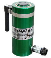 Simplex RAS502B Hydraulic Aluminum Cylinder 50 Ton 2 In Single Acting Spring Return