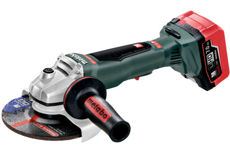 "Metabo 613076640 WPB 18 LTX BL 150  6"" Cordless Angle Grinder"