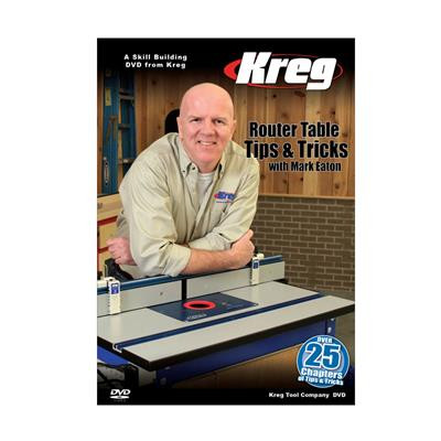 Kreg V09-DVD Router Table Tips & Tricks Video DVD