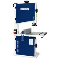 Rikon 10-3061 10 Inch 1/2 HP Bandsaw with Rip Fence and tool-less guides