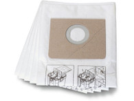 Fein 31345061010 Fleece Filter Bag For Turbo II HEPA Vacuums 5 Pack