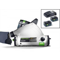 Festool 201399 TSC 55 Cordless AirStream Track Saw W/O Track offers all of the great features and functionality of its first-in-class TS 55 REQ corded tracksaw, but without the restraints of having a cord.