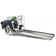 Festool 575085 HK 55 Cross-Cutting Track Saw PLUS-FSKprovides a new miter-saw system for more independence and combines precision and efficiency with a high level of user-friendliness, optimized ergonomics and ease of use
