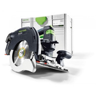 Festool 201359 HKC 55 Cordless Track Saw BASIC in combination with the FSK cutting rail, provide a new miter-saw system for more independence and combines precision and efficiency with a high level of user-friendliness, optimized ergonomics and ease of use.